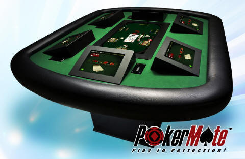 Touch screen poker table in casino bowl game college football casino odds