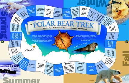 Image of: Screenshot Polar Bear Trek Free Downloadable Board Game Polar Bear Trek Free Downloadable Board Game By Purple Pawn