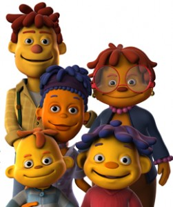 Sid the Science Kid Family