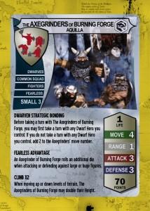 Heroscape Card AxegrindersofBurningForge