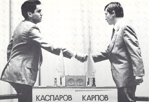 ИШФ: Ритуал Киппур-Каппарос в матчах на первенство мира Kasparov-karpov