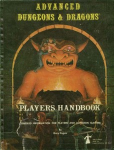 AD&amp;D Player's Handbook