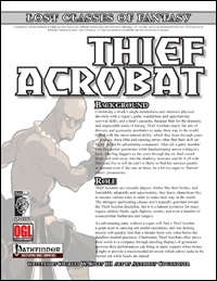 Thief Acrobat