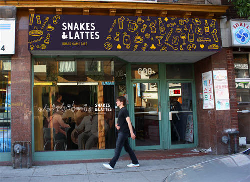 snakes and lattes toronto