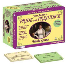 Pride and Prejudice the Trivia Game | Purple Pawn