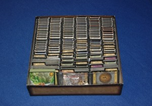 Dominion storage purple pawn for Board game storage solutions