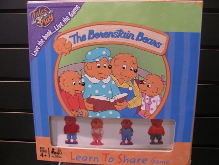 Berenstain Bears Board Games, Card Games, and Playsets