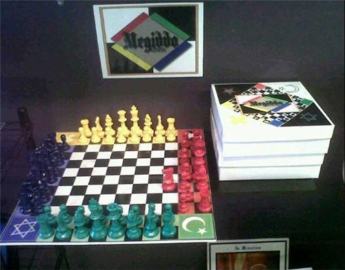 Megiddo Chess: Jews vs Christians vs Moslems vs Devils | Purple Pawn