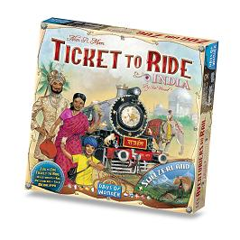 Ticket to Ride India box