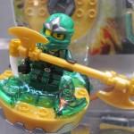 Ninjago Lloyd ZX Green Ninja closeup