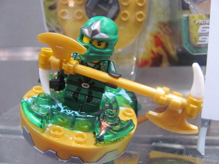 First look at lego ninjago's green ninja lloyd zx