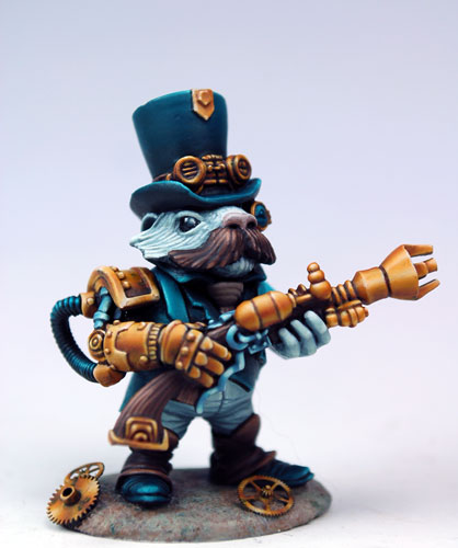 Steampunk Guinea Pig By Purple Pawn