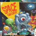 Space Checkers box
