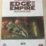 Star Wars RPG Edge of Empire Beta