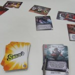 Smash Up cards in play