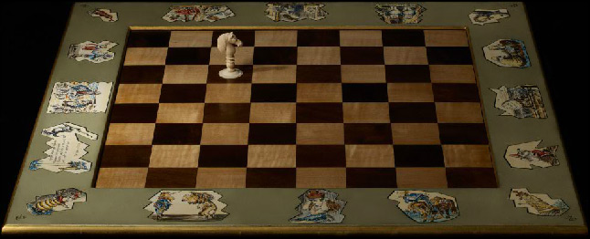 Rare and expensive chess sets purple pawn - Most expensive chess board ...