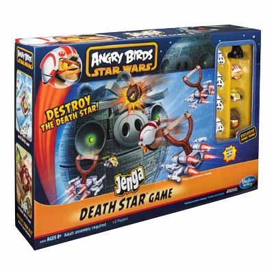 Amazon.com: Angry Birds Star Wars Jenga Death Star Game ...