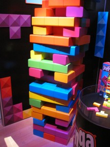 Giant Tetris Jenga By Purple Pawn