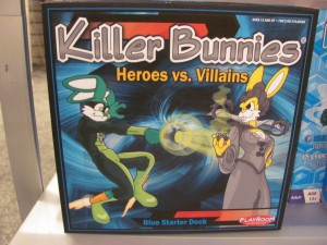 Killer Bunnies Heroes vs. Villains