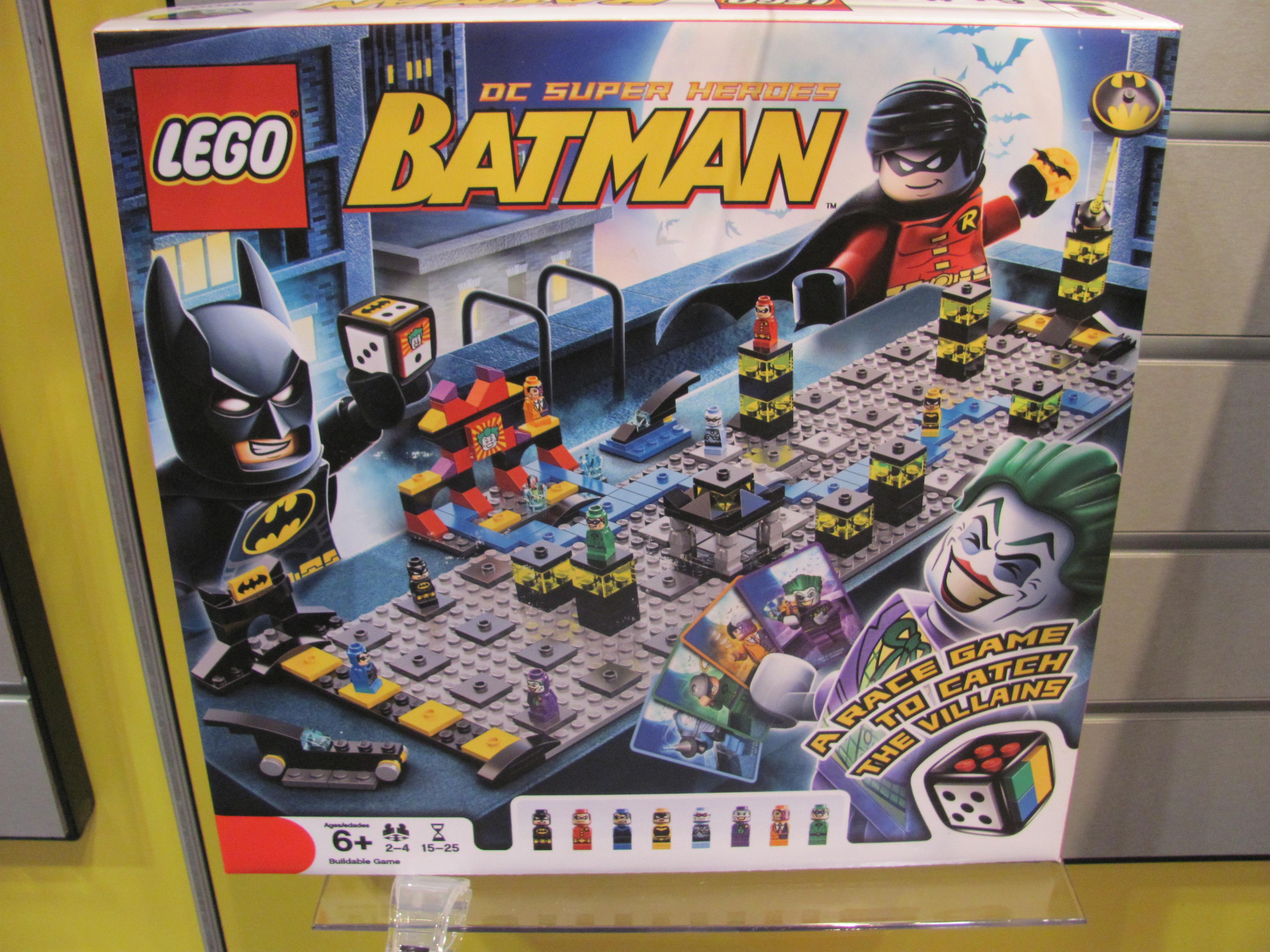Lego Batman Toys : Toy fair —lego board games purple pawn