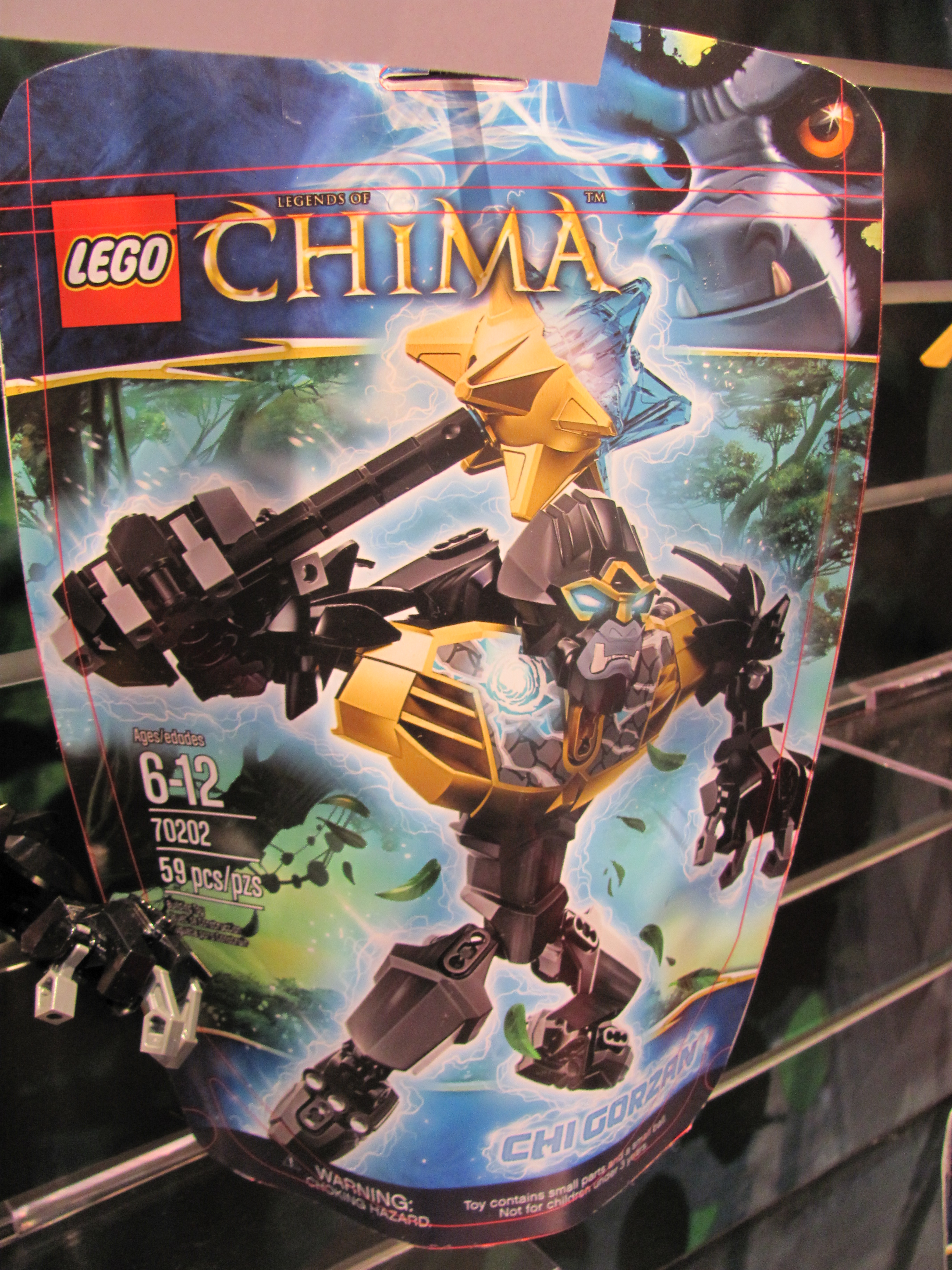 Toy Fair 2013—LEGO Legends of Chima by Purple Pawn