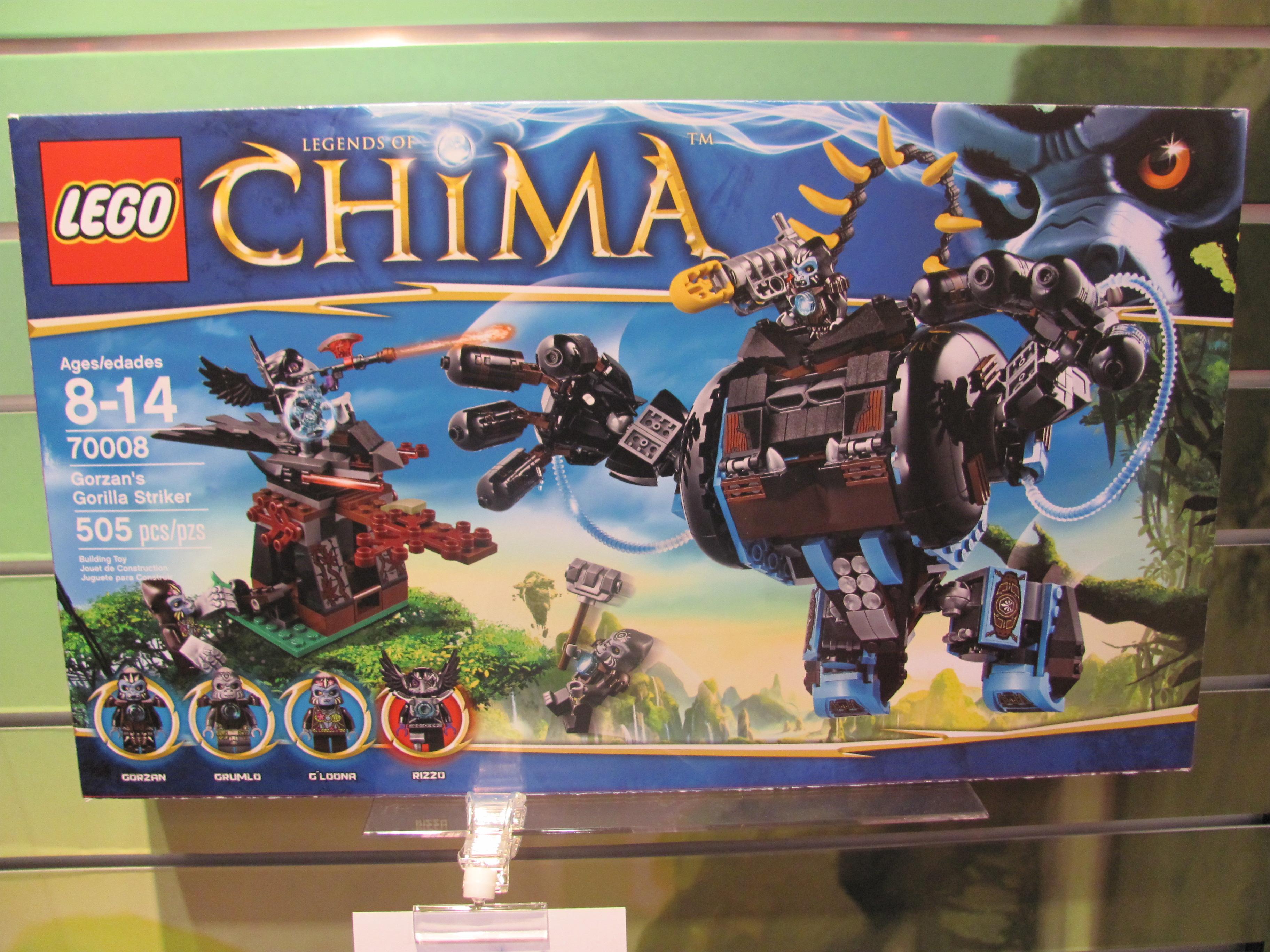 Produits images officielles hd des figurines d 39 action chima - Image de lego chima ...
