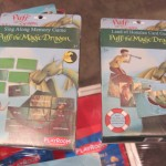 Puff the Magic Dragon Card Game Boxes
