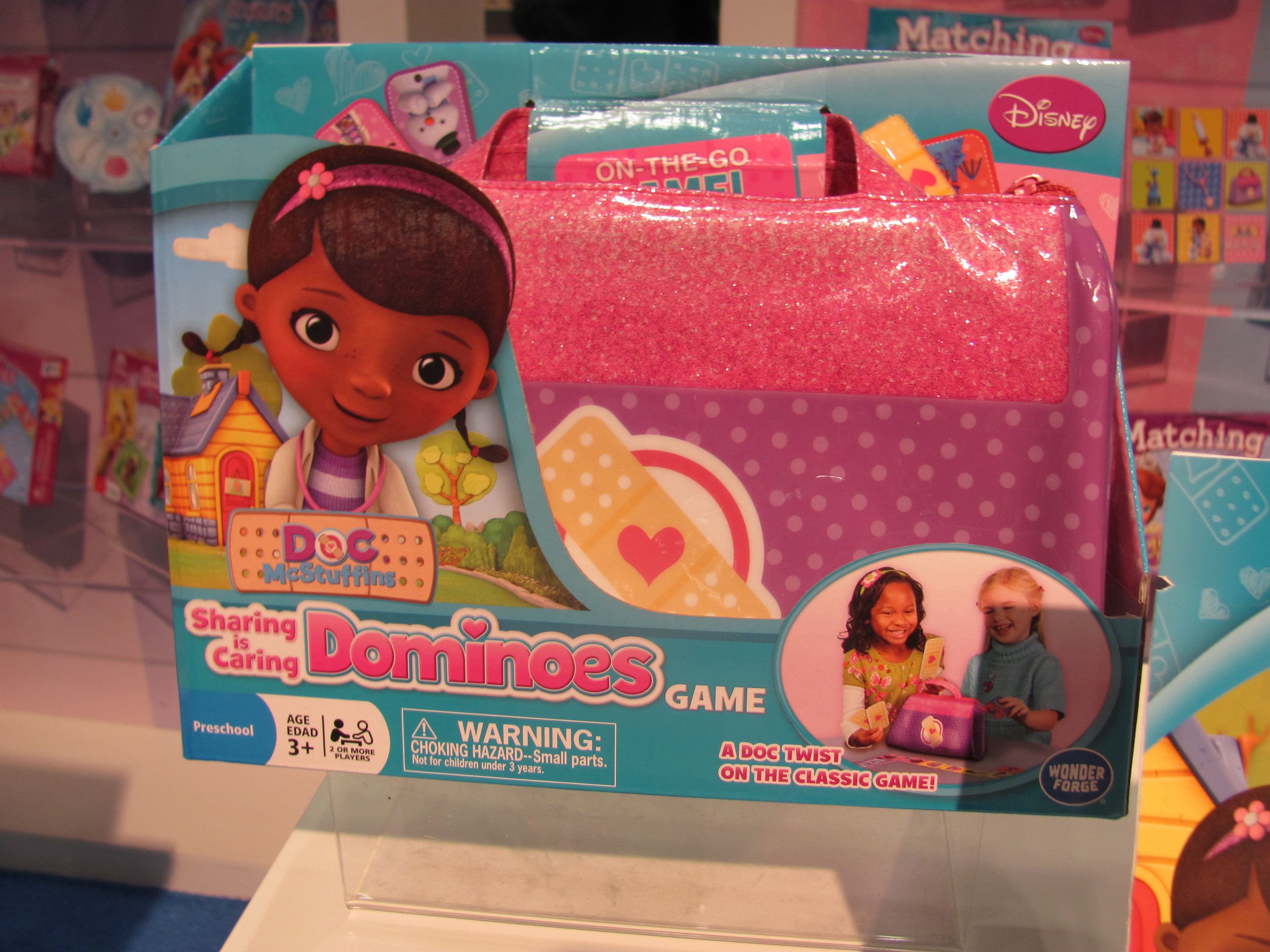 Doc McStuffins Sharing Is Caring Dominoes Game By Purple Pawn - Doc games