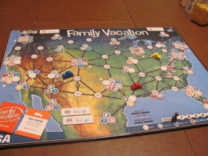 Family Vacation Board