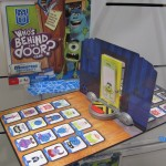 Monsters University Who's Behind the Door Game