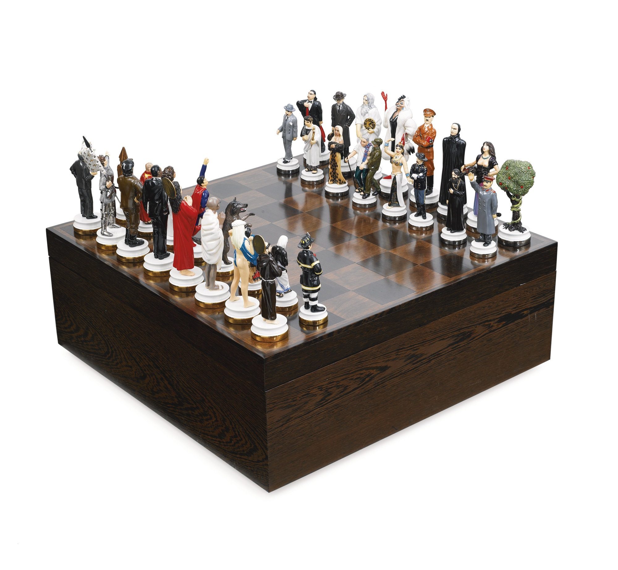 Beau Good Versus Evil Chess Set