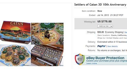 Settlers of Catan 3D