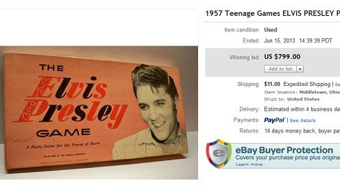 The Elvis Presley Game
