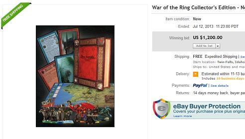 War of the Ring Collector's Edition