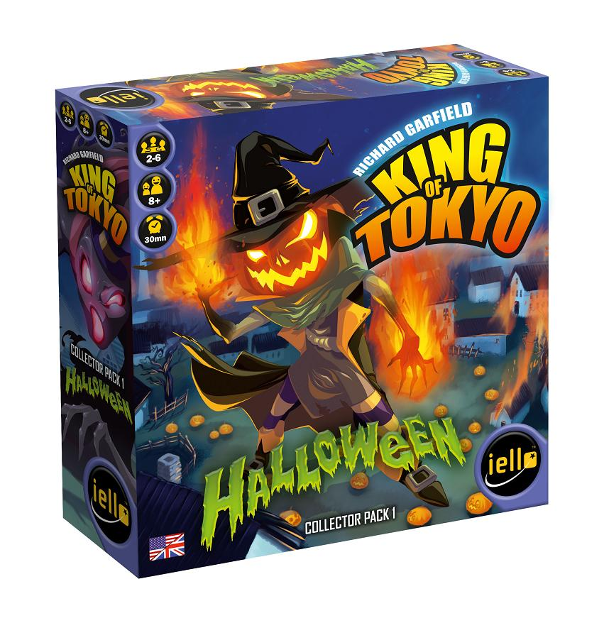 King of Tokyo Halloween Collector Pack 1