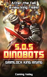 SOS Dinobots Poster