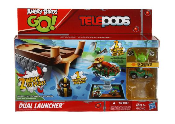 Angry Birds Go Telepods Dual Launcher