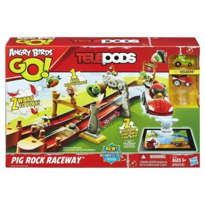 Angry Birds Go Telepods Pig Rock Raceway