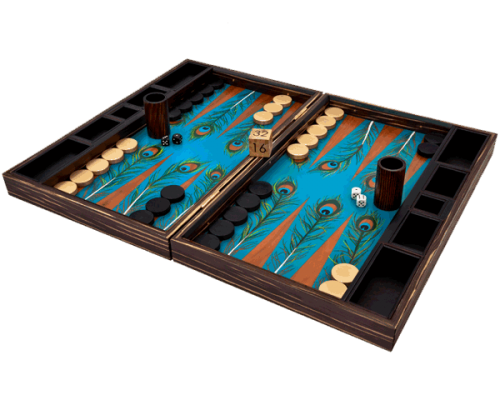 Peacock Backgammon