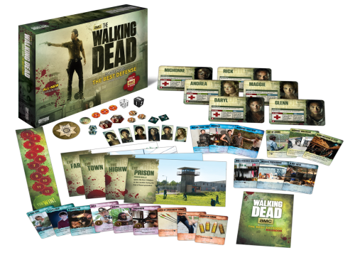 The Walking Dead Board Game The Best Defense