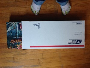 USPS Flat Rate Box with Games