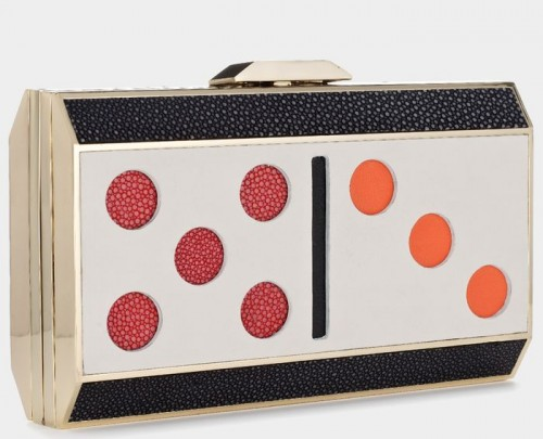 Anya Hindmarch Duchess Domino Clutch