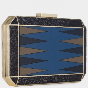 Anya Hindmarch Duke Backgammon Clutch