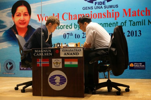 FWCM 2013 Anand and Carlsen Game 7