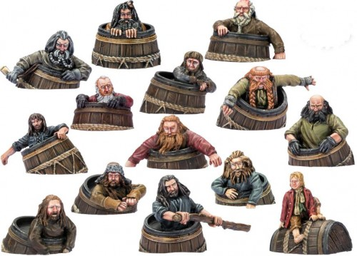Dwarves in Barrels