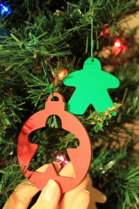 Meeple Christmas Tree Ornaments