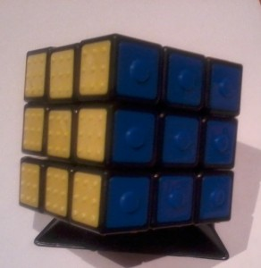 Rubik's Cube for Visually Impaired