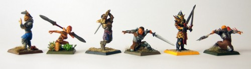 HeroForge printed custom miniatures