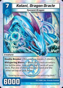 Kaijudo Kolani Dragon Oracle