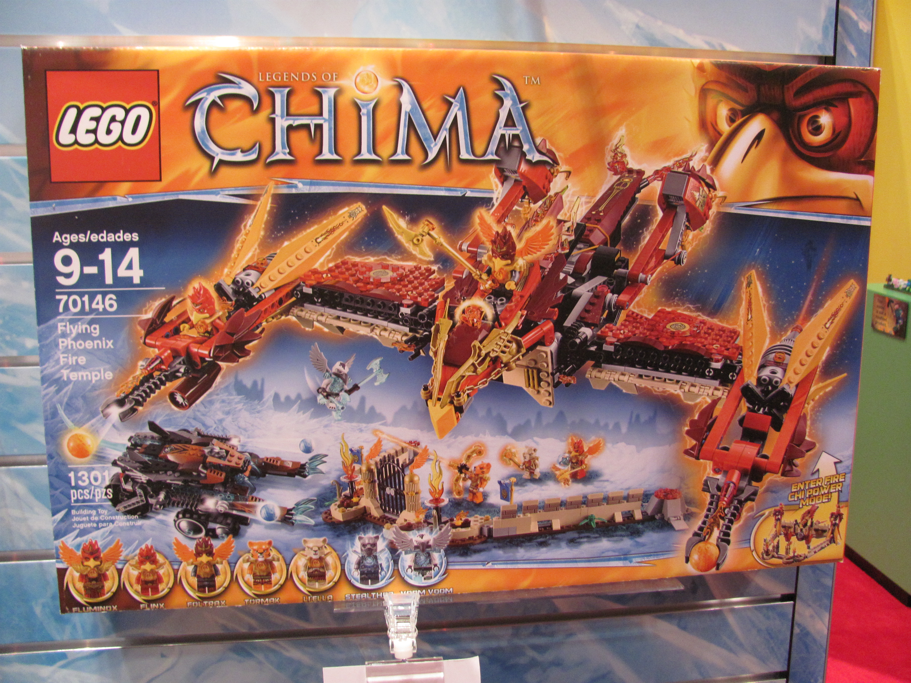 Toy Fair 2014—Lego Legends of Chima | Purple Pawn